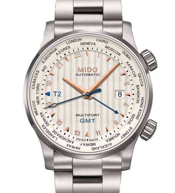MIDO Multifort GMT - M005.929.11.031.00 - Front
